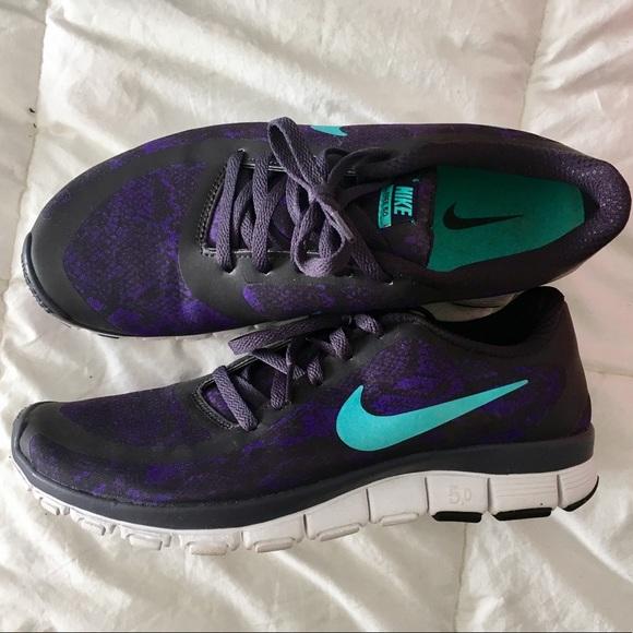 Nike Shoes Free 50 Purple Snake Print Sneakers Poshmark